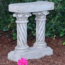 Steinfigur Pflanzgefäß Sandstein Gartenfigur Statue Deko Steinguss 305