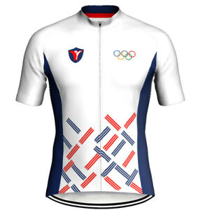 Cycling Jersery Short Bike Jersey Biking Shirt MTB Korea Road White Jacket Cycle