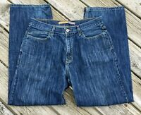 Levi's Silver Tab Jeans Low And Loose 34 x 32 Fit Blue Denim SilverTab Vintage