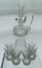 Britain Crystal & Cut Glass Decanter Vintage Original