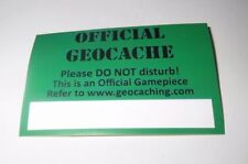 Geocaching Vinyl Sticker x1-Protect Your Cache From Accidental Finds PRICE CRASH