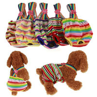 Washable Female Dog Puppy Diaper Pants Physiological Sanitary Panties Underwear