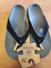 Spenco Men's Yumi Flip Flop Sandal Carbon Pewter 11W Spenco Men's Yumi Sandal