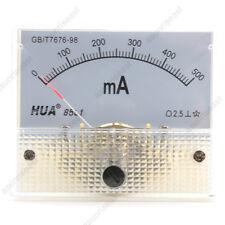 1×AC500mA Analog Panel APM Current Meter Ammeter Gauge 85L1 AC0-500mA