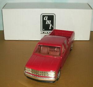 1/25 Scale 1993 Chevy C/K C-1500 Plastic Promo Model Pickup Truck Ertl 6160 Red