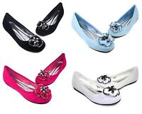 AGATHA-01 New Fashion Slip On Casual Women Flats Office Comfort Flower Shoes