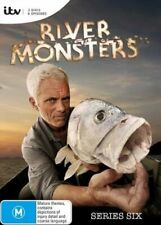 RIVER MONSTERS - complete season series 6 DVD - FISHING ANGLING NEW SEALED OOP