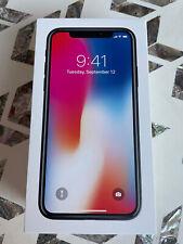 New listing Apple iPhone X - 256Gb - Space Gray (Unlocked) A1865 (Cdma + Gsm)