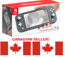 Nintendo Switch Lite Console - Grey -  OPEN BOX BRAND-NEW, CANADIAN SELLER!!