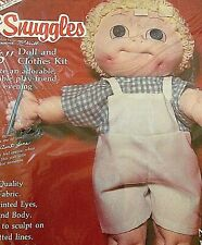 """Vtg 80s Doll skin 16"""" Boy with clothes pattern KIT McNeill"""