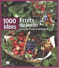Livre jardinage - Fruits du jardin - Charles Massin