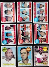 1969 Topps BASEBALL partial set LOT of 369/664 w/HOF's all different VG/EX -EX+
