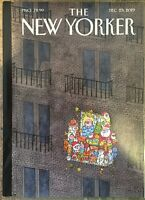 THE NEW YORKER MAGAZINE Dec 23, 2019 Decking The Deck Issue Power