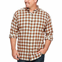 The Foundry Big & Tall Supply Co. Mens Long Sleeve Flannel Shirt Mens 2XLT Tall