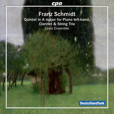 Schmidt / Konstanze - Schmidt: Quintet in A Major for Piano Left-Hand [New CD]