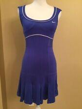 Nike Tennis Dress, Blue, Size S, EUC!