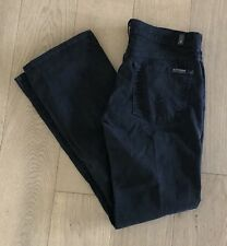 7 For All Mankind Kimmie Bootcut Black Jeans Women's Size 28