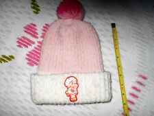80s VTG Strawberry Shortcake Stocking Beanie Hat Winter Holidays (Pre-Owned)