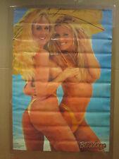 """vintage  Girls """"Blondage"""" man cave hot car garage Poster 4847"""
