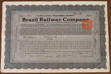 Brasilien: Brazil Railway Company 1929