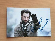 Autogrammkarte - FRANK P. WARTENBERG - SCHAUSPIELER - orig. signiert #471
