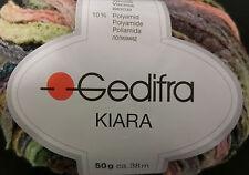 (139 €/kg):450 g KIARA von Gedifra, Bändchengarn Farbverlauf, grünbunt 5168#1636