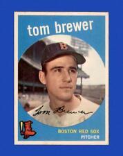 1959 Topps Set Break # 55 Tom Brewer EX-EXMINT *GMCARDS*