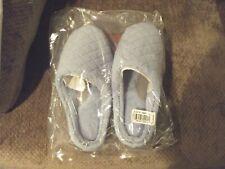 Dearfoams Womens Clog Slippers Indoor/Outdoor  L (9-10) Blue