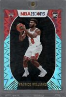 2020-21 NBA Hoops Patrick Williams RC Teal Explosion Foil #246 Chicago Bulls SP
