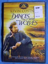 BRAND NEW GiftReady Dances with Wolves 1990 FF DVD Mary MacDonnell Kevin Costner