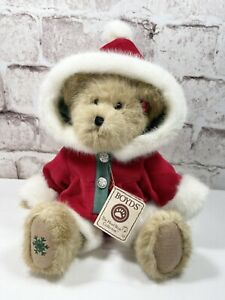 """Boyd's Bears MARY BEARY 14"""" Christmas Jointed Plush #904351 RETIRED Collectable"""
