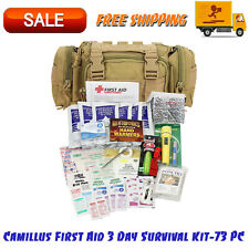 Camillus First Aid 3 Day Survival Kit-73 PC, 1.0 CT, Emergency Prep, Tan Color