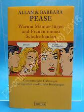 Buch Allan + Barbara Pease - Warum Männer lügen und Frauen immer Schuhe kaufen