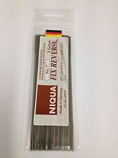 144 Quality Niqua No7 Reverse Tooth Plain End Fretsaw or Scrollsaw Blades