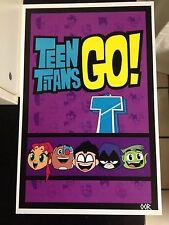 Teen Titans Go! poster print