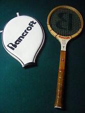 Vintage Billie Jean King Bancroft Champion Model Wooden Tennis Racquet.