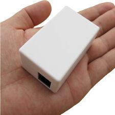 Adaptador de RJ11 tarjeta sd de teléfono de voz espía BUG Grabadora todas las llamadas Guardado archivos. WAV