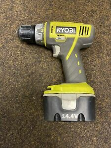 Ryobi 14.4 Volt Cordless  Drill Driver LCD1402. With Battery Good Working Order