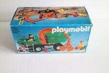 playmobil 3475 vintage klicky ovp dump truck, χωματερή, Muldenkipper complete