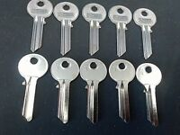 Copy Yale 1A Key Blanks (10) Solid Steel Silca Blanks Strongest On The Market