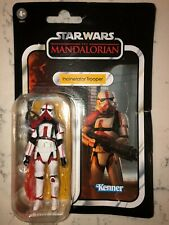 Star Wars Vintage Collection Incinerator Trooper The Mandalorian Not Mint Card