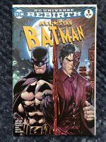 All Star Batman #1 - DC Comics - 2016 - Tyler Kirkham Variant!