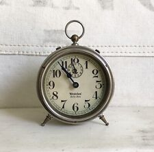 "Wonderful Antique Westclox ""Baby Ben� Nickel Plated Alarm Clock"