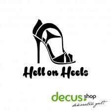 Hell on Heels // Sticker JDM Aufkleber Frontscheibe