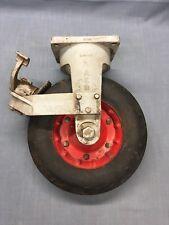 "Vintage Aircraft Mover ""Tug"" Wheel AER ~ Alameda Naval Air Station"
