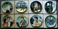 (8) Elvis Looking At A Legend Collector'S Plates In Orig Boxes Bradford Exchange