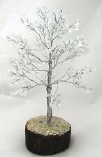 Clear Quartz Spiritual Reiki Healing Crystal Tree Feng Shui Home Décor Crystal