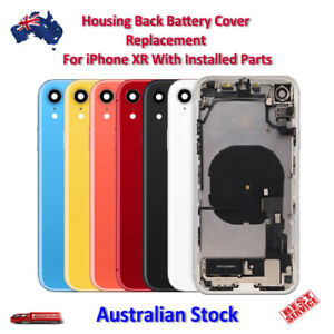 Housing Back Battery Cover Replacement For iPhone XR With Installed Parts