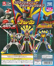 Takara Super Robot Gashapon Dancouga Space Warrior Baldios GoShogun Set of 3pcs