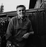 OLD MOVIE PHOTO Actor Tab Hunter Poses At Home In Los Angeles California 6